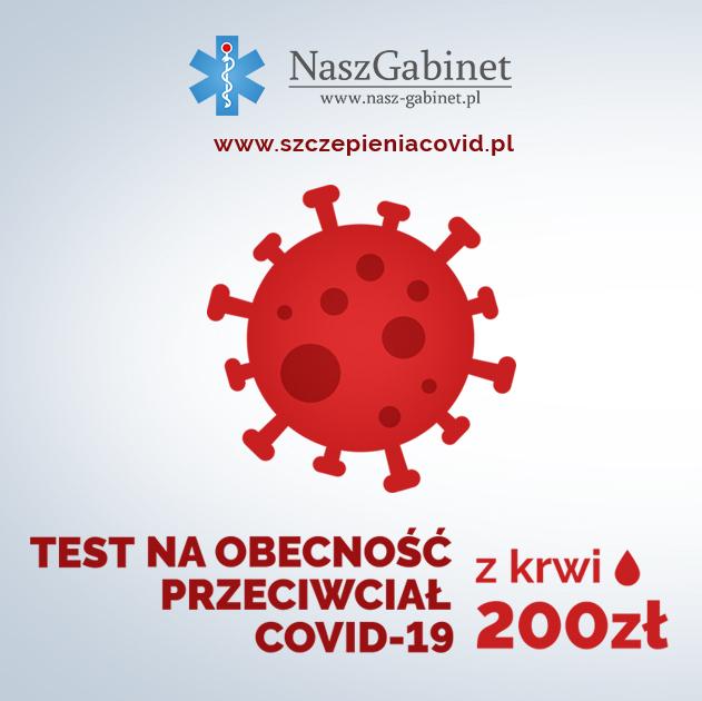 Test na przeciwciała covid Kielce